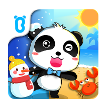 Apps de niños sobre estaciones - Natural seasons de BabyBus