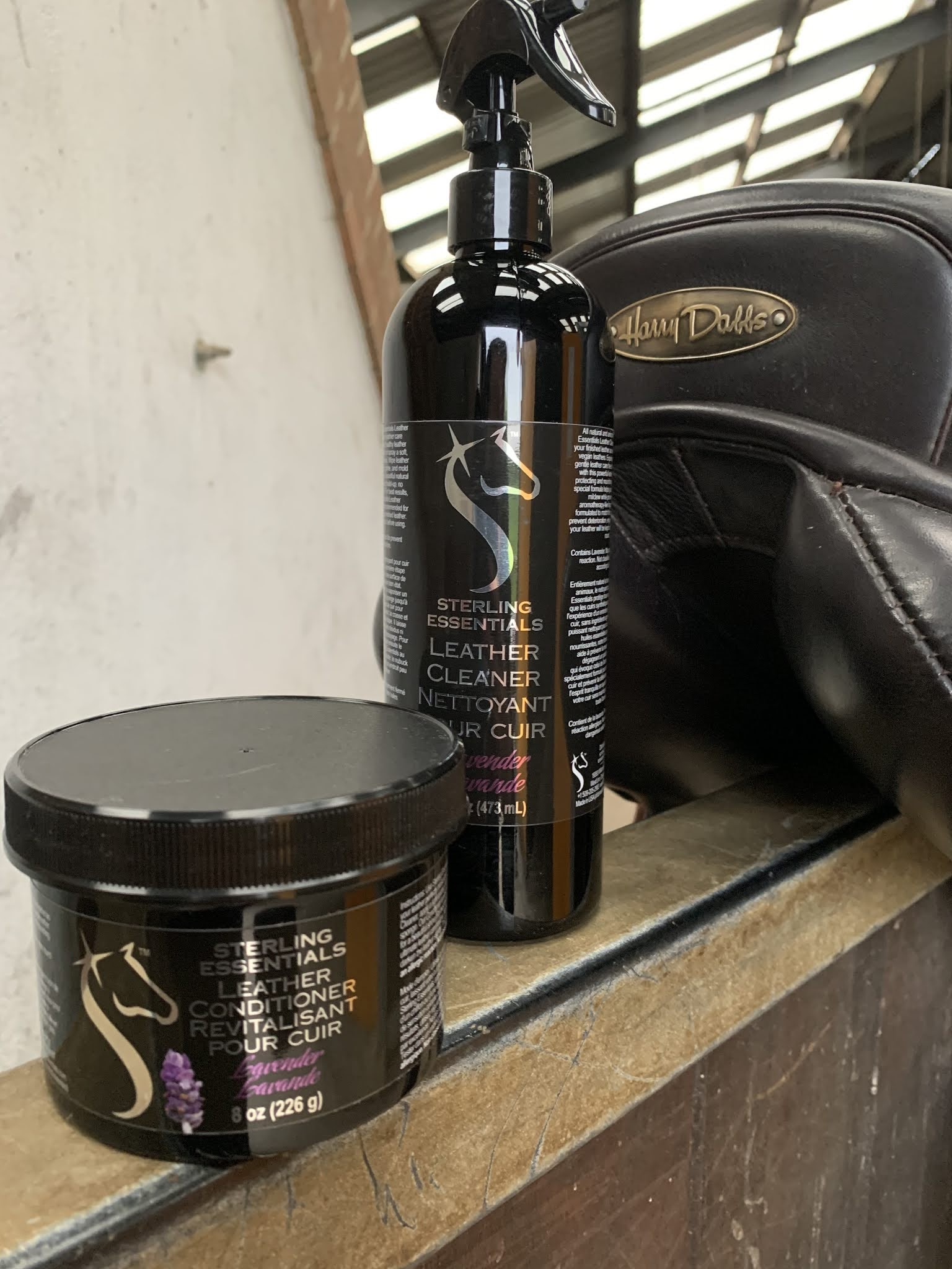 Sterling Essentials Lavender Leather Cleaner & Conditioner
