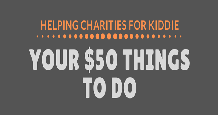 Your $50 Things To Do #infographic
