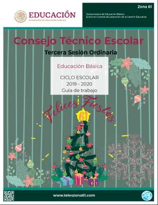 CONSEJO TÉCNICO ESCOLAR: GUIA DE LA TERCERA SESION 2019-20