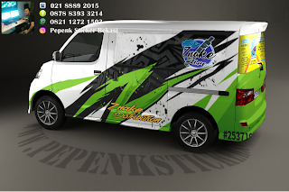 Sticker mobil luxio decal