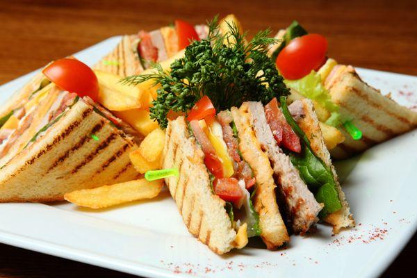Club Sandwich θαλασσινών