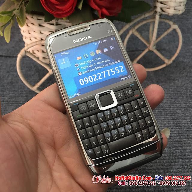 Nokia e71 chính hãng và địa chỉ chuyên bán điện thoại cổ chính hãng tại hà nội