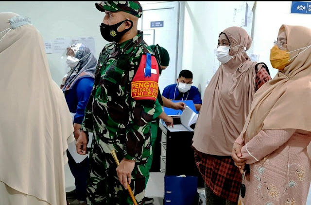 Dandim 0101/BS Tinjau Ruang Pienere di RSUDZA Banda Aceh