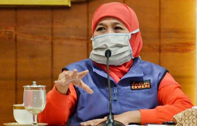 Mulai Cairkan Bansos untuk Warga Terdampak Covid-19 di Jawa Timur