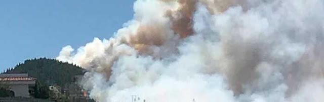 fotos Incendio Artenara, Gran Canaria, última hora