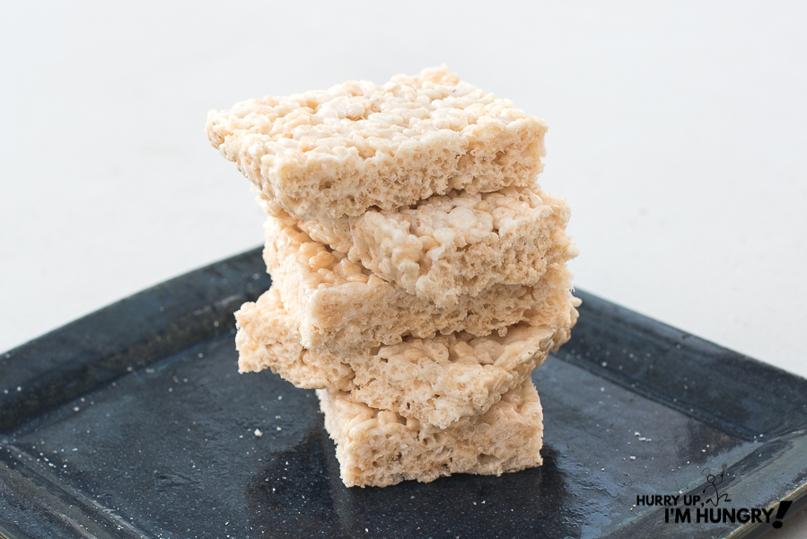 How to make rice krispie treats homemade