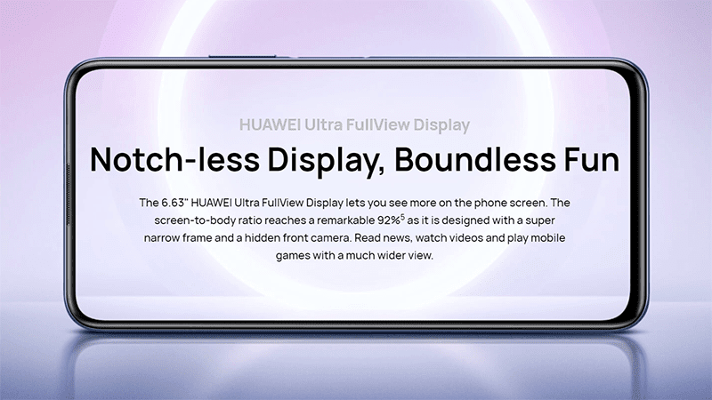 92 percent screen-to-body ratio