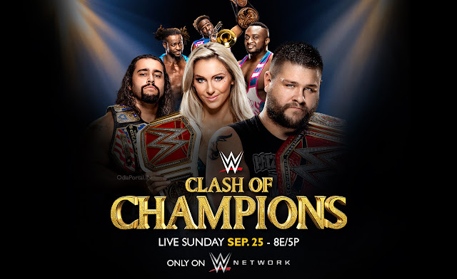 Complete details about WWE's Clash Of Champions 2016 PPV Date, Time and Live/Repeat Telecast Schedule for India & Indian Subcontinent (Afghanistan, Bhutan, Bangladesh, India, Maldives, Nepal, Pakistan, Sri Lanka, and Tibet) WWE *Clash Of Champions 2016* Date, Time and Live/Repeat Telecast info for India & Indian Subcontinent (Ten Sports)