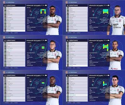 PES 2021 Corinthians Facepack