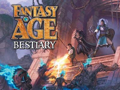 Fantasy AGE Bestiary en preventa (Greenronin)