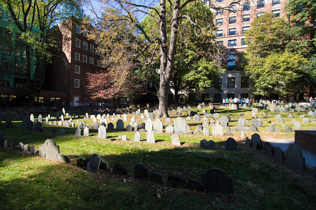 Cranary burial ground-Boston
