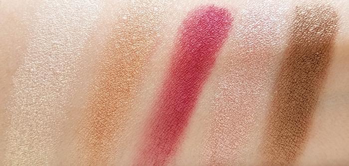L´Oréal Paris - La Petite Eyeshadow Palette - Nudist - Swatches - Madame Keke Luxury Beauty Blog