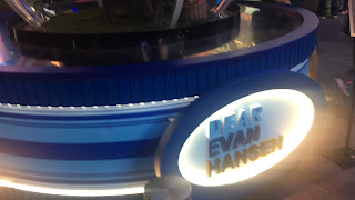 Dear Evan Hansen Logo Snow Globe Times Square New York City