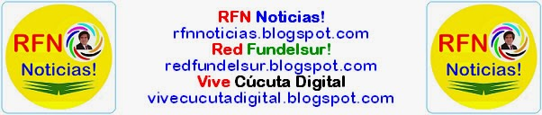 Logo pie de notas de RFN♥Noticias! Red♥Fundelsur! Vive Cúcuta Digital