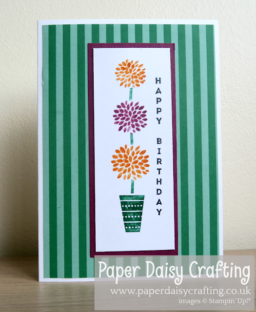 Vertical Greetings Stampin Up