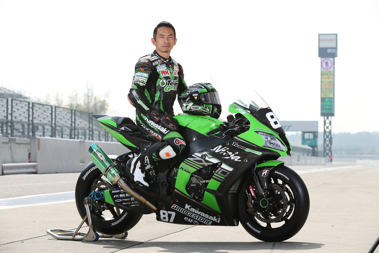 planet japan blog: all japan superbike - kawasaki zx-10r team