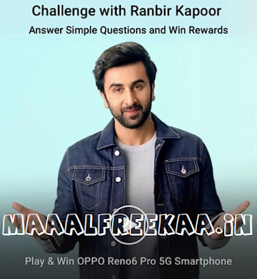 Play And Win OPPO Reno 6 Pro 5G Smartphone