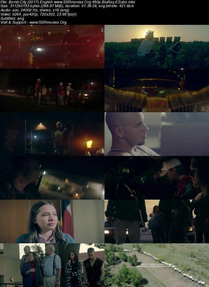 Bomb City (2017) English 480p BluRay 300MB