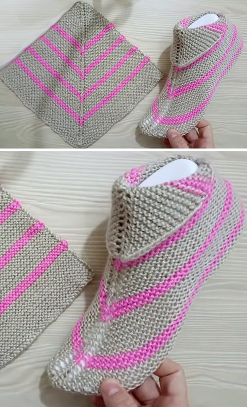 Super Easy Women's Socks - Free Knitting Pattern