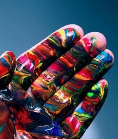 Tutti i colori di una mano