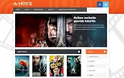 (Free)(Premium) A Movie Blogger Template Themes
