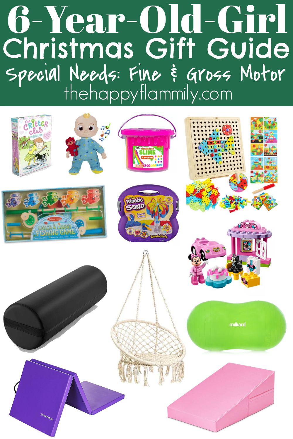 Good gifts for special needs child. Special needs child gift ideas. Gifts for special needs teenager. Birthday ideas for special needs child. Best toys for special needs child. Special needs toys for cerebral palsy. Gift ideas for child in wheelchair. Gifts for mentally handicapped adults. Special needs gift guide. #giftguide #holiday #christmas #specialneeds #adaptive #disability #acessibility