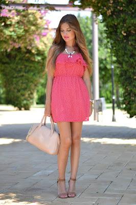 Vestidos rosados