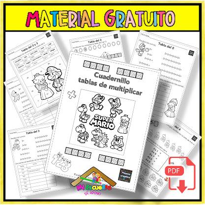 Mi Cuadernillo de las tablas de multiplicar