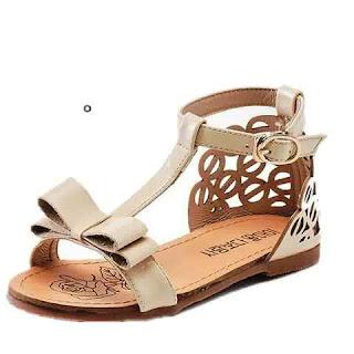 Sepatu Sandal Anak Perempuan Kulit Terbaru
