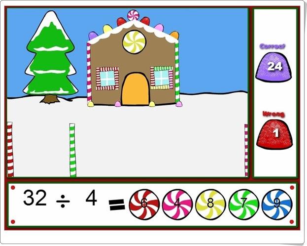 """""""Happy holidays"""" (Juego de Divisiones de Navidad)"""