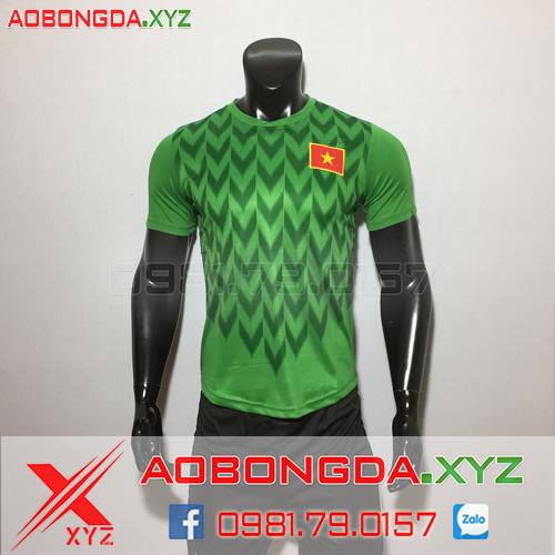 Áo Đội Tuyển Việt Nam 2019-2020 Thủ Môn Màu Xanh Lá