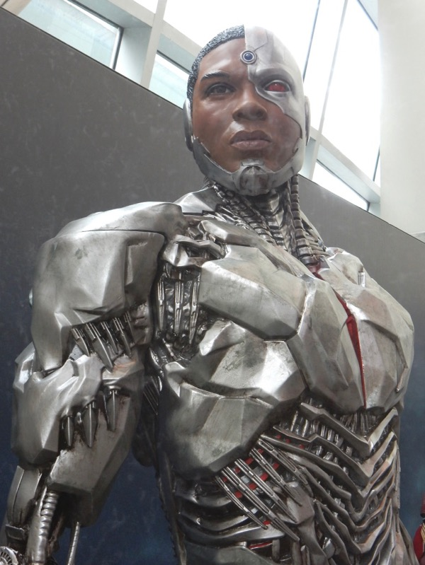 Cyborg costume Justice League