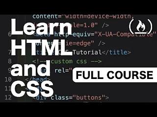صورة لدرس في html و css