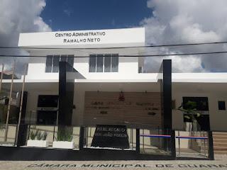 Câmara de Guarabira: veja quais os projetos de leis e requerimentos em pauta na sessão desta quinta, 21
