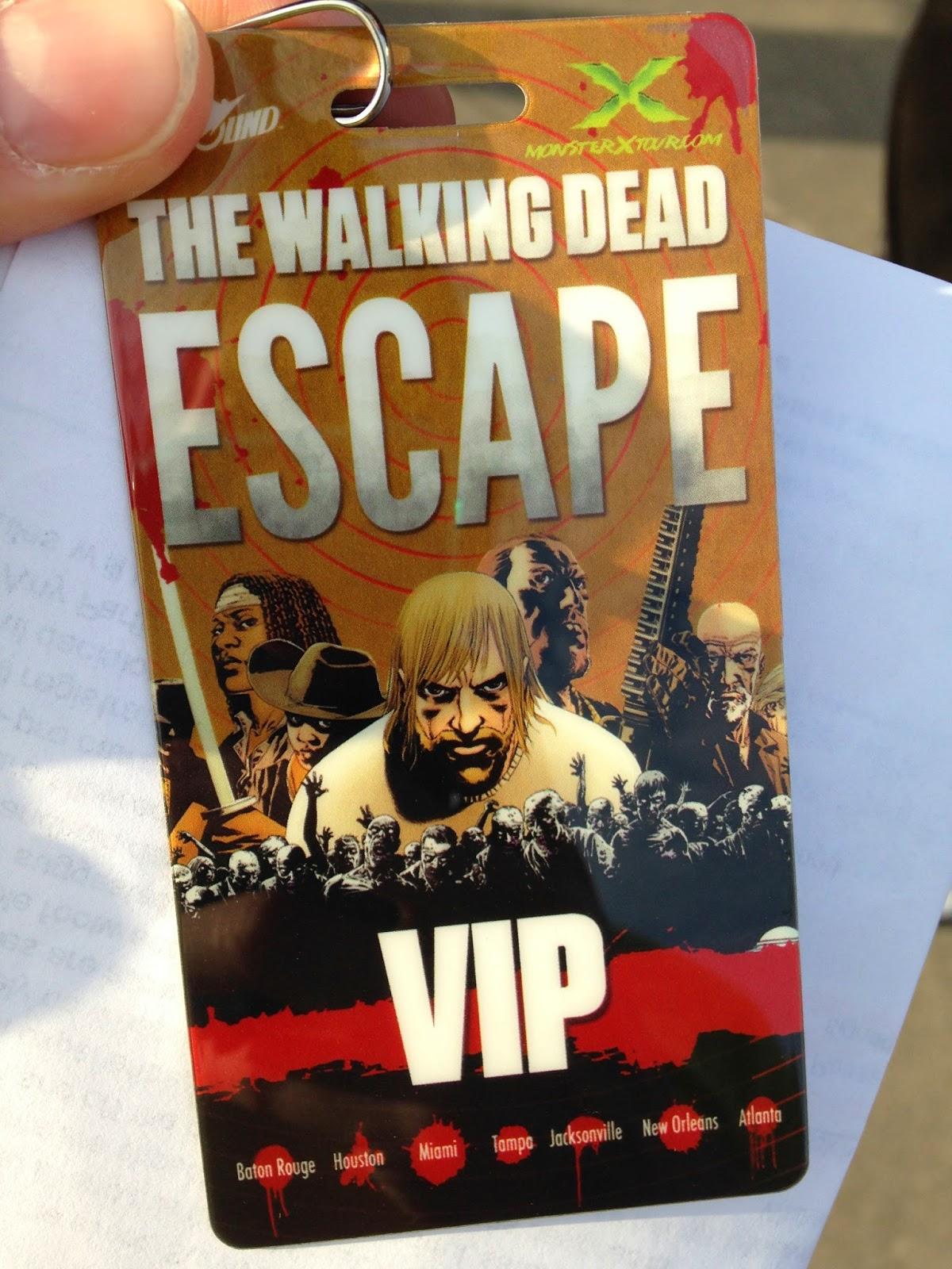 walking dead escape coupon