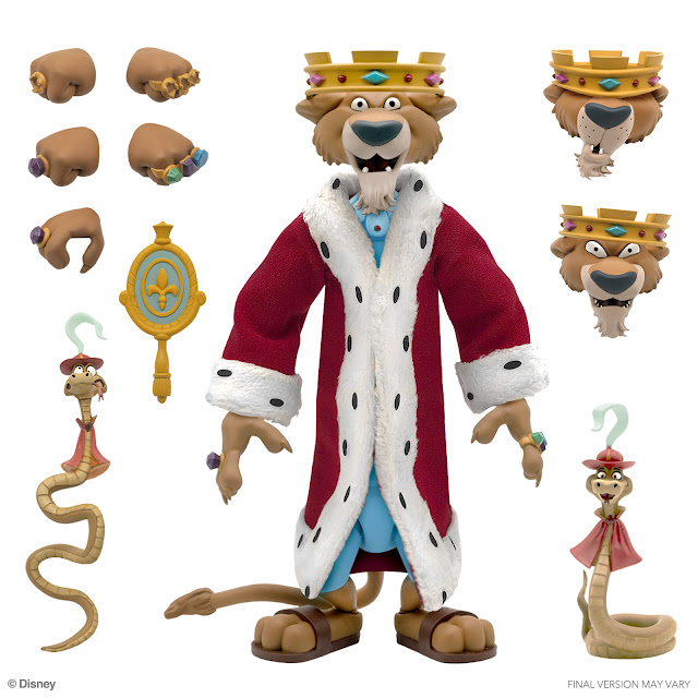 Super7 Announces Disney Classic Animation ULTIMATES! Figures (Wave 1): Sorcerer's Apprentice Mickey Mouse, Prince John, and Pinocchio, 迪士尼樂園、體驗及消費品, Disney Parks, Experiences and Products,