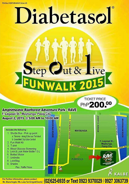 Diabetasol Funwalk 2015: Step Out and Live