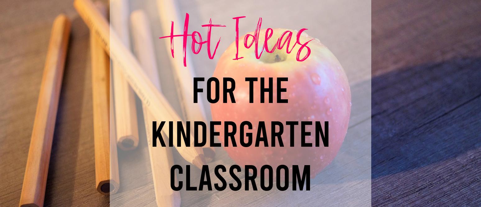 Literacy activity ideas for the Kindergarten classroom