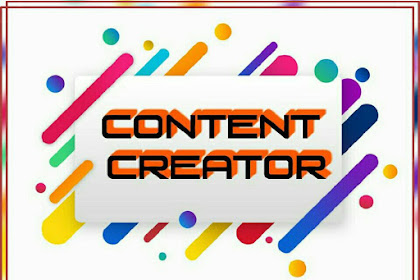 Content Creator Or Youtuber Jaman Now