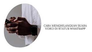Cara Mematikan Suara Video di Status WhatsApp