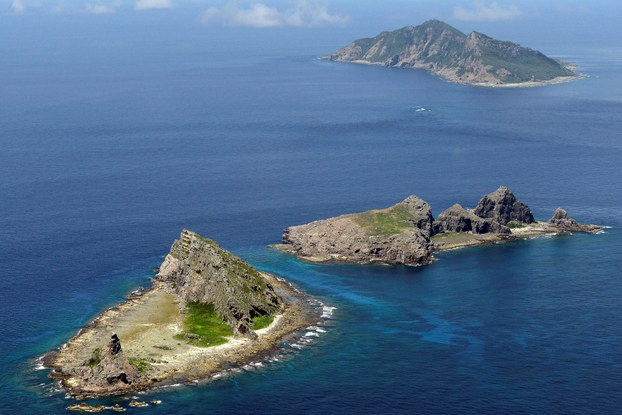 The Senkaku / Diaoyu Islands are located on the East China Sea and become a hot spot for disputes between the two countries. (Image: Reuters)