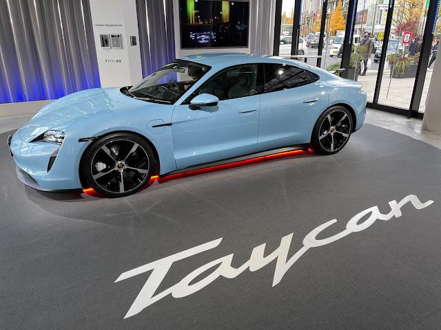 Porsche Taycan Popup Harajuku (@ jing in 渋谷区, 東京都)