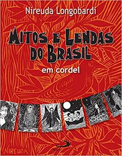 Livro Mitos e Lendas do Brasil em Cordel - Capa comum