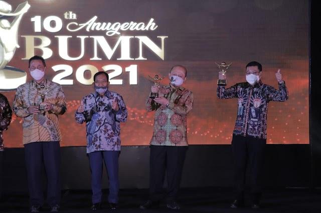 Anugerah BUMN 2021, Pupuk Indonesia Raih Best Corporate dan Best CEO BUMN