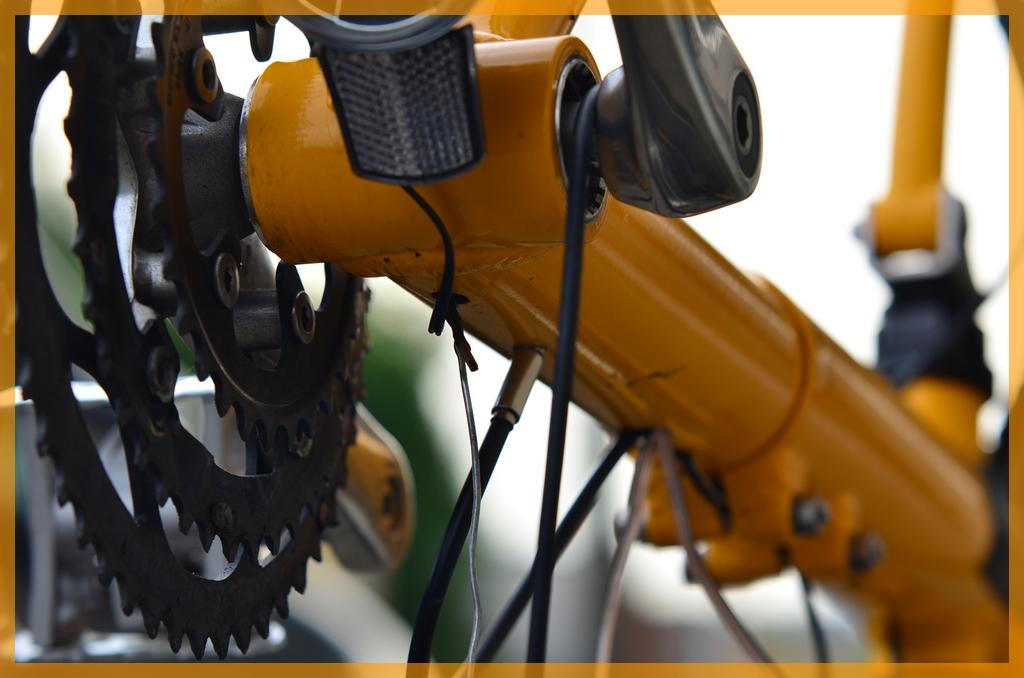 onderweg met de fiets: Dynamo-verlichting op de Seiran: montage