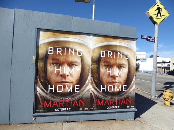 The Martian movie posters