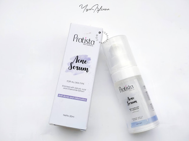 REVIEW ACNE SERUM PRATISTA SKINCARE