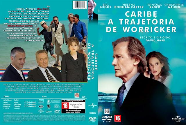 Capa DVD Caribe A Trajetória De Worricker