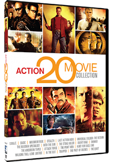 GIVEAWAY: Action 20 movie collection